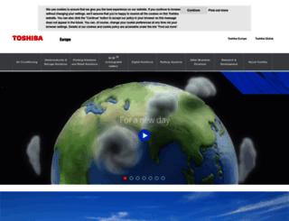 uk.computers.toshiba-europe.com screenshot
