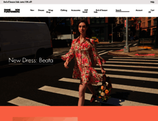 uk.dvf.com screenshot