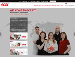 uk.gcegroup.com screenshot