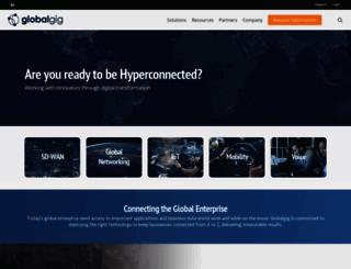 uk.globalgig.com screenshot