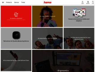 uk.hama.com screenshot