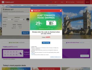 uk.hotels.com screenshot