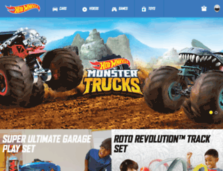 uk.hotwheels.com screenshot