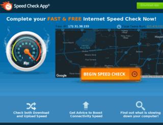 uk.internetspeednow.com screenshot