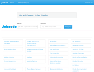 uk.jobsode.com screenshot