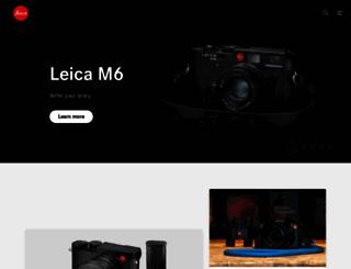 uk.leica-camera.com screenshot