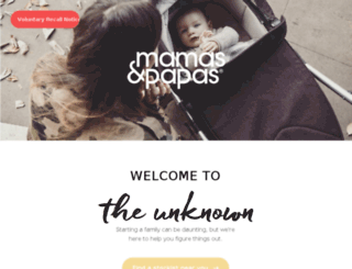 uk.mamasandpapas.com screenshot