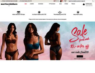 uk.marliesdekkers.com screenshot