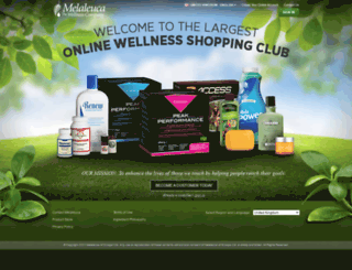 uk.melaleuca.com screenshot