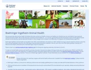 uk.merial.com screenshot