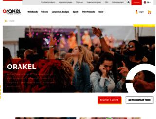 uk.orakel.com screenshot