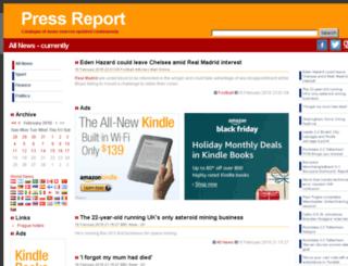 uk.press-report.net screenshot