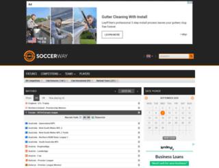 uk.scoresway.com screenshot