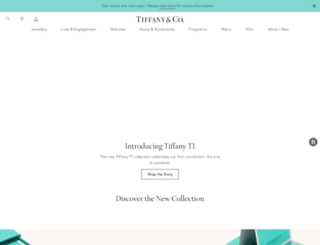 uk.tiffany.com screenshot