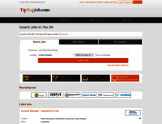uk.tiptopjob.com screenshot