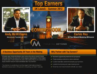 uk.topearners.com screenshot