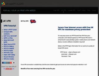 uk.ufreevpn.com screenshot