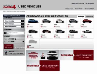 uk.used-cars.pre-prod.nissan.eu screenshot