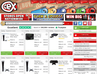 uk.webuy.com screenshot