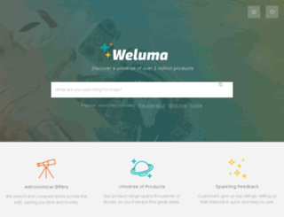uk.weluma.com screenshot