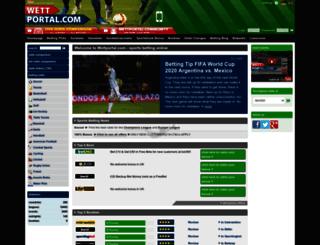 uk.wettportal.com screenshot