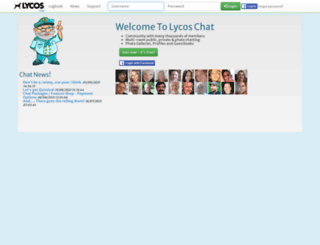Access uk.worldsbiggestchat.com. Lycos Chat | The Coolest ...