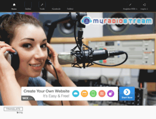 uk17-free.mixstream.net screenshot