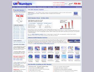 uk2numbers.co.uk screenshot