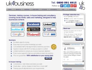 uk4business.com screenshot