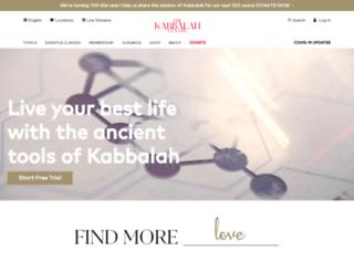 ukabbalah.com screenshot