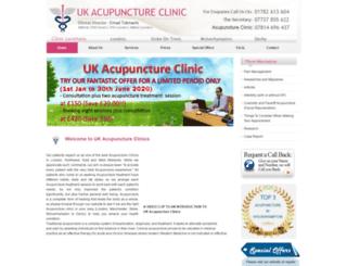 ukacupuncture.co.uk screenshot
