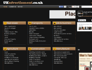 ukadvertisment.co.uk screenshot