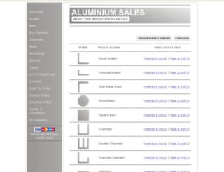 ukaluminium.co.uk screenshot