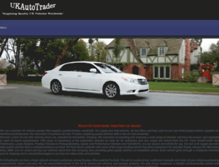 ukautotrader.co.bw screenshot