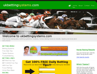 ukbettingsystems.com screenshot