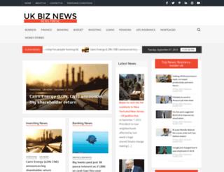 ukbiznews.com screenshot