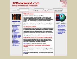 ukbookworld.com screenshot