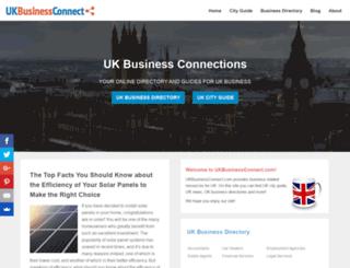 ukbusinessconnect.com screenshot