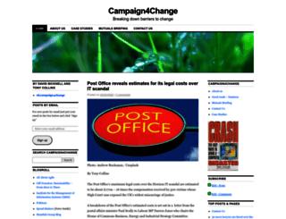 ukcampaign4change.com screenshot