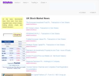 ukcitymedia.co.uk screenshot