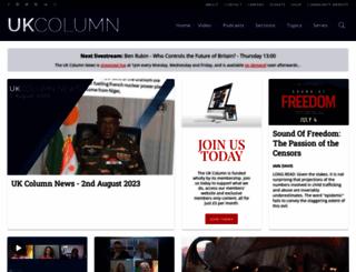 ukcolumn.org screenshot