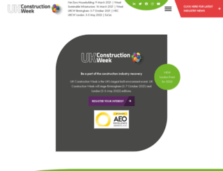 ukconstructionweek.com screenshot
