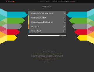 ukdic.co.uk screenshot