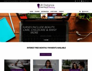 ukdlp-distance-learning.com screenshot