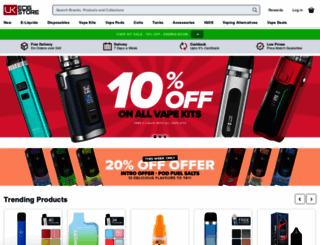 ukecigstore.com screenshot