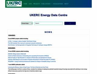 ukedc.rl.ac.uk screenshot