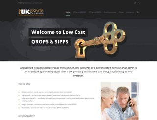 ukexpatspensions.com screenshot