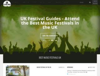 ukfestivalguides.co.uk screenshot