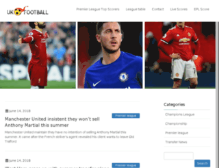 ukfootball.net screenshot