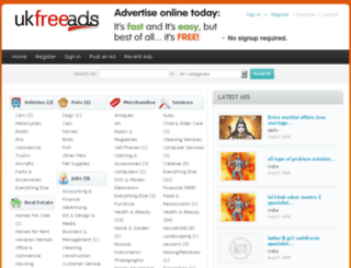 ukfreads.com screenshot
